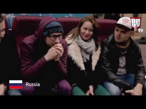 In Amsterdam for the Cup - Russian Smokers at the Cannabis Cup - Smokers Guide Flashback Clip