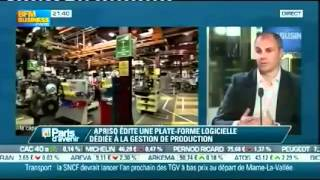 Apriso on BFM Business June 4, 2012 (France)
