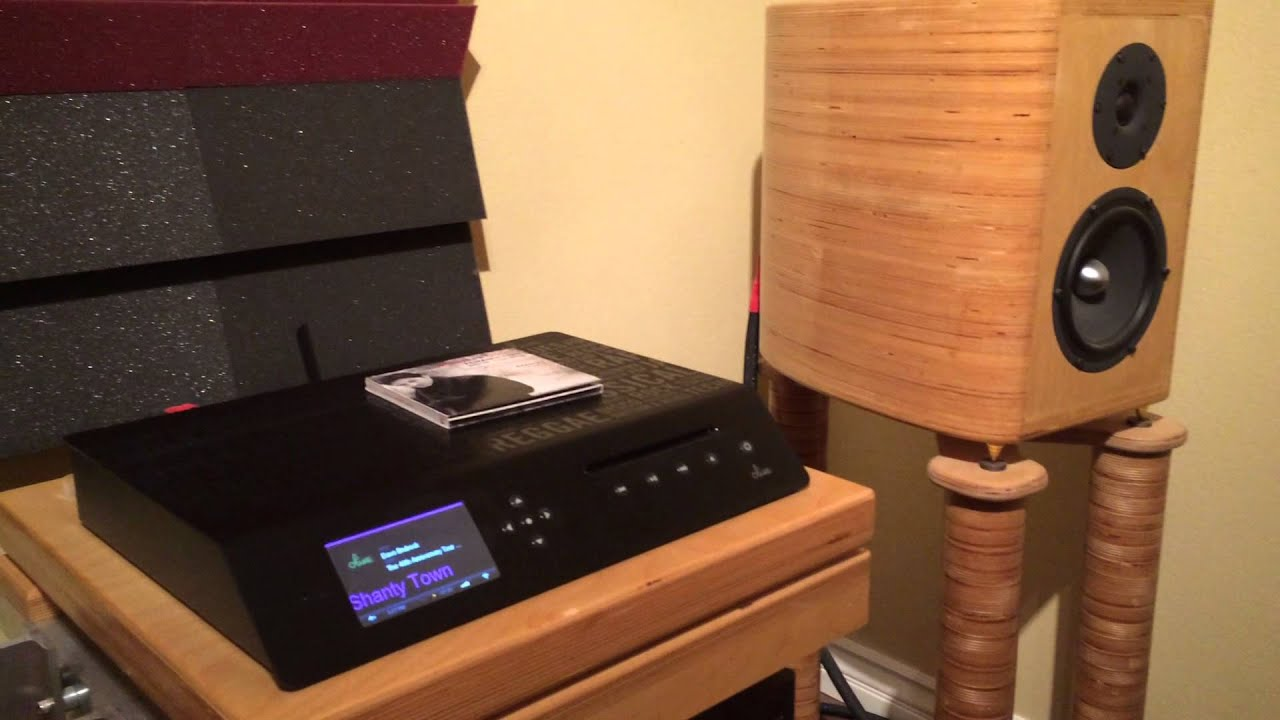 DIY speakers playing Dave Brubeck - YouTube
