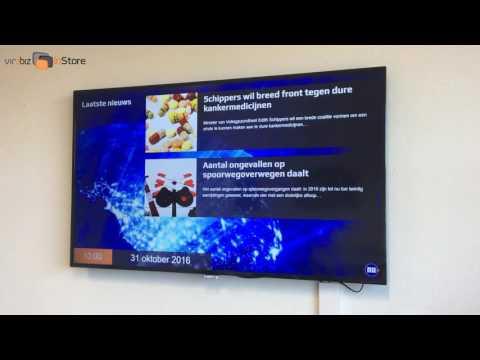 vir2biz instore, de innovatieve narrowcasting oplossing