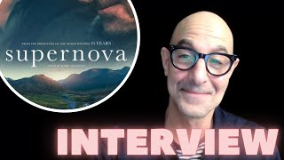 Stanley Tucci on Working with Colin Firth in SUPERNOVA | Interview with the Cast of SUPERNOVA