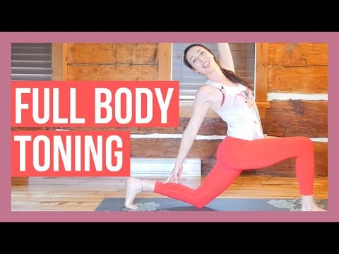 45 min Intermediate Vinyasa Yoga – Full Body Toning Yoga