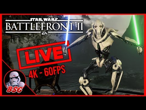 Count Dooku Is Here! Star Wars Battlefront 2 PS4 and PC Gameplay | 4K Live Stream (4K 60FPS) thumbnail