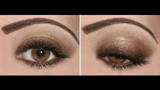 Легкий свадебный макияж для карих глаз(, 2014-09-23T03:29:31.000Z)