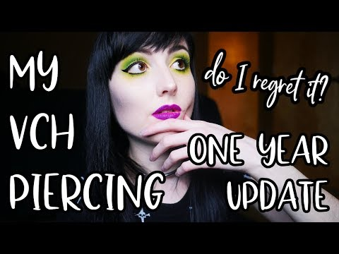My VCH Piercing One Year Later: is This Body Mod Worth it? [FAQ]