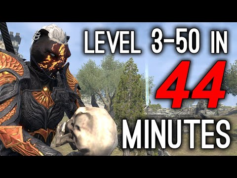 WELL THAT ESCALATED QUICKLY 🔔 - Level 3-50 in 44 minutes - Elsweyr Chapter ESO 🔔🔔