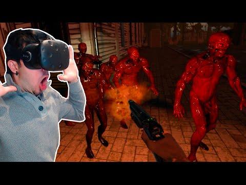 EL MEJOR JUEGO DE ZOMBIES!? | VR zGame (HTC Vive) REALIDAD VIRTUAL