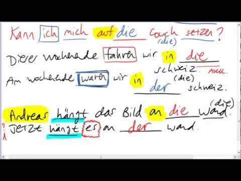 Hammer Grammar 2.4: Changeable Prepositions II