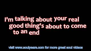 Lou Rawls - Your Good Thing (Is About to End) (with lyrics)