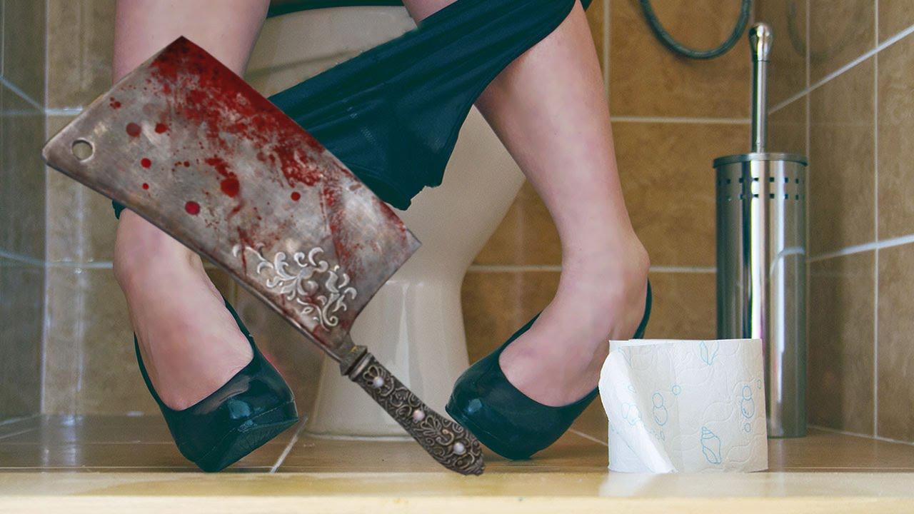 Отрезала член прямо в ванной