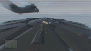 GTA 5 - NEW Alien Spaceship Gameplay LIVE! (Fort Zancudo & Sandy Shores) [GTA V Highlights]