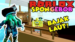 SPONGEBOB IS BECOMING A PIRATE!! 😱☠️-ROBLOX Spongebob United Kingdom