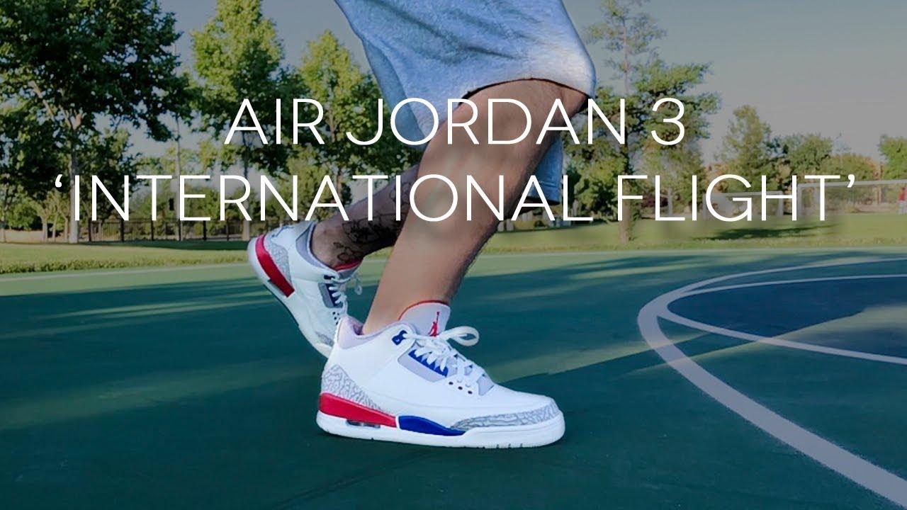 1c106b1a773704 AIR JORDAN 3  INTERNATIONAL FLIGHT  - YouTube