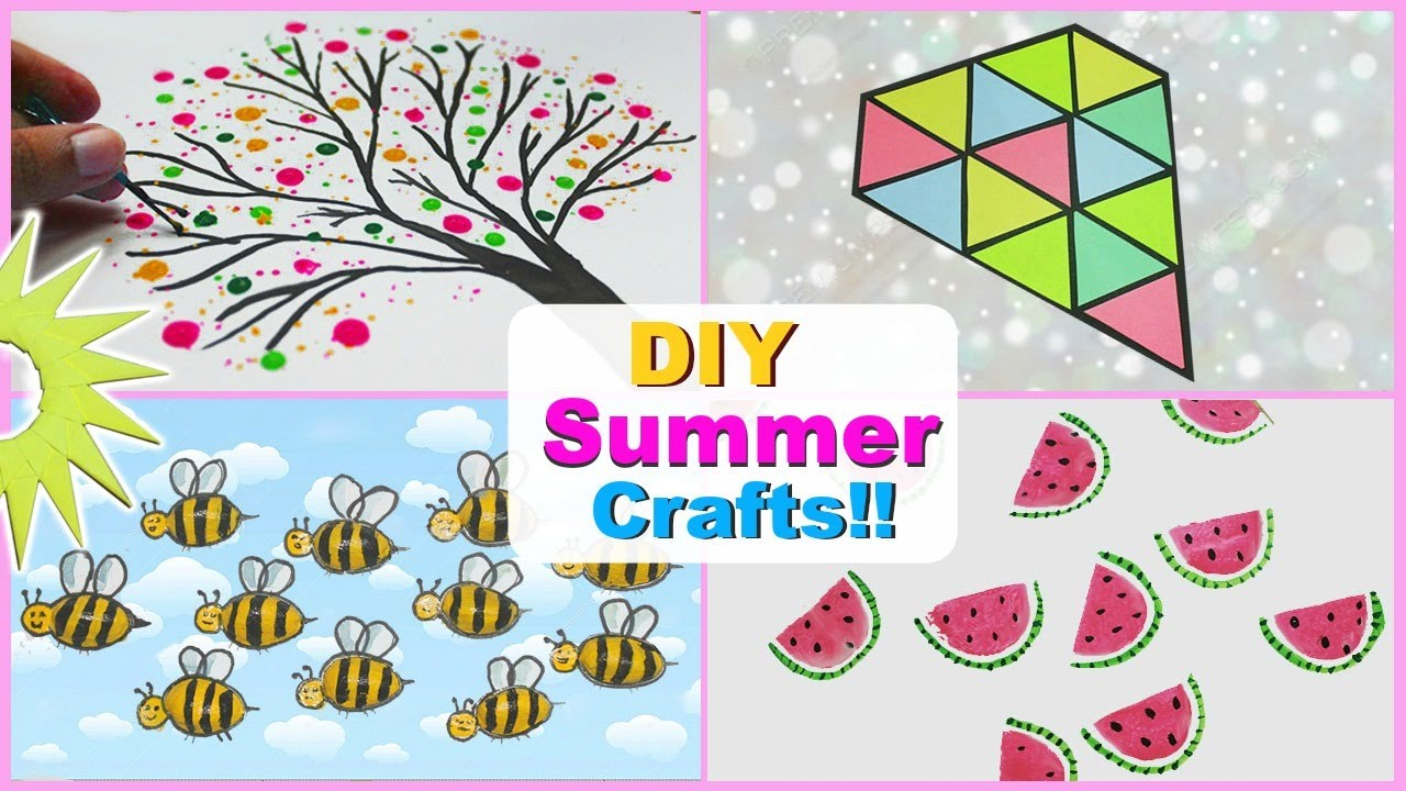5 Minute Awesome Crafts To Do When Youre BORED DIY Summer