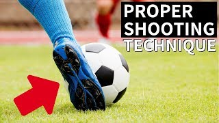 How To Shoot A Soccer Ball With Power And Accuracy From Far
