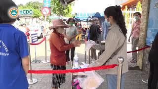 Thành phố Hồ Chí Minh thêm điểm phát gạo miễn phí