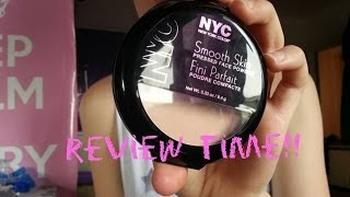 Review on NYC smooth skin powder