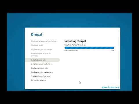 Installer Et Tester Drupal 8 En Ligne