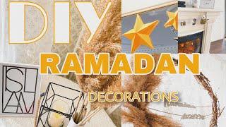 DIY RAMADAN | декор из подручных средств