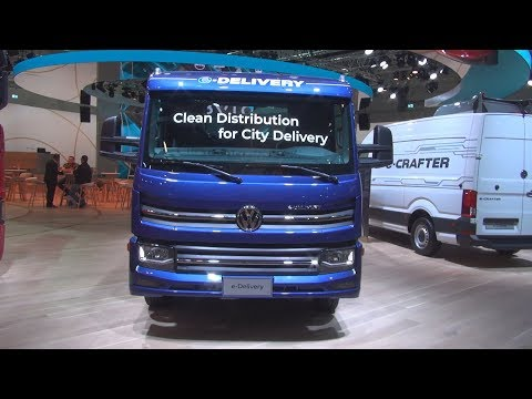 Volkswagen e-Delivery Chassis Truck (2020) Exterior and Interior