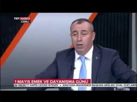 T. HABER-İŞ GENEL BAŞKANI VELİ SOLAK TRT HABER'DE