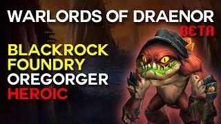 Oregorger Heroic - Blackrock Foundry - Warlords of Draenor Beta Raid Test
