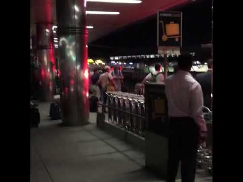 Unattended Vehicle Towed Away as LaGuardia Airport Evacuated 04
