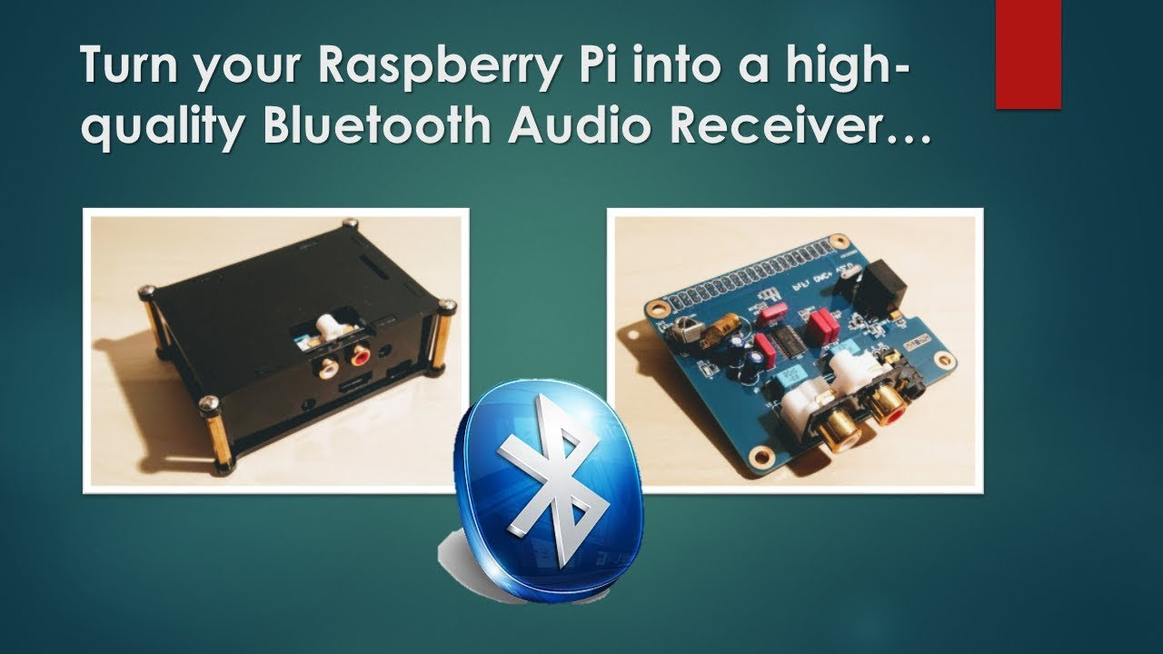 Turn your Raspberry PI into a Bluetooth audio receiver : LightTube