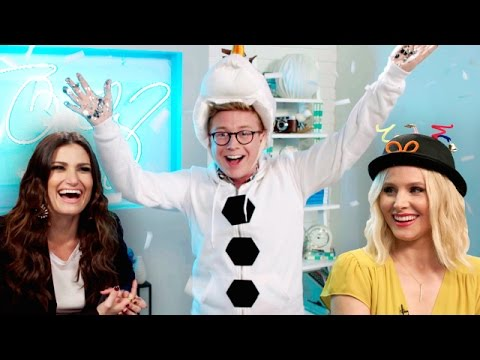 'The Tyler Oakley Show,' Disney 'Frozen' Edition with Idina Menzel & Kristen Bell