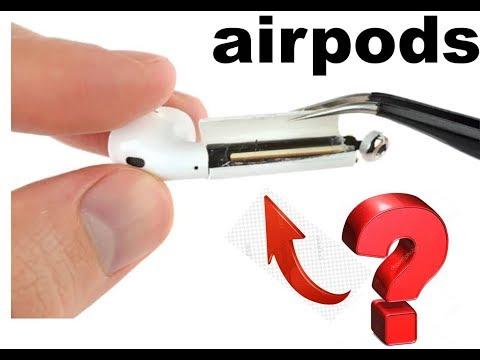 Разбираем apple airpods. Что внутри наушников? Полный разбор всех частей.