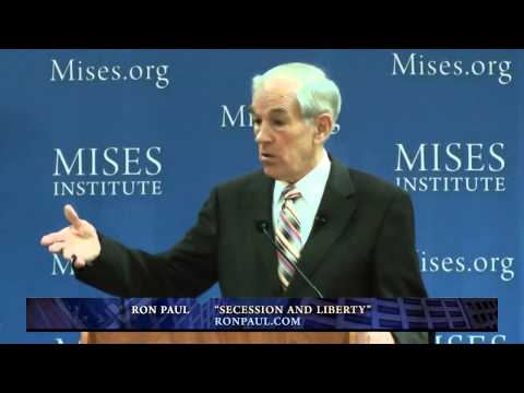 "Ron Paul; The ""Breaking Up"" of Government its happening and it's ""good news"""
