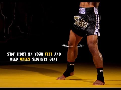 Muay Thai Basic Stance and Movement: instructional