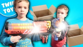 New Nerf Gun Unboxing & Review:  Rival Artemis