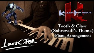 Killer Instinct - Tooth and Claw (Sabrewulf Theme) Piano Arrangement