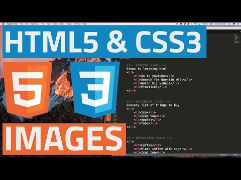 HTML5 And CSS3 Beginner Tutorial 8 - Images