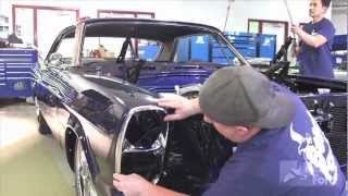 Galax-stang: A 1966 Ford Galaxy 500 Meets a 2006 Ford Mustang