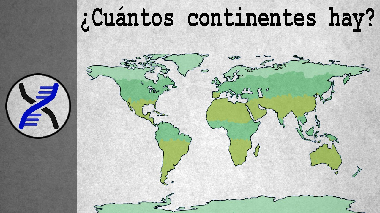 cu ntos continentes hay youtube