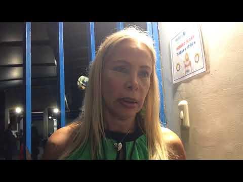 """Leida Moros, Coord.  Centro Votación UE San Luis: """"El centro se cerró con normalidad a las 6:20 pm"""""""