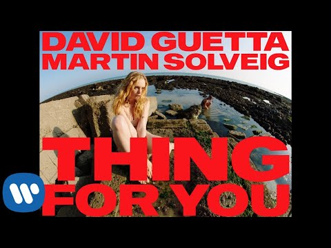 DAVID GUETTA AND MARTIN SOLVIEG DROP EROTIC 'THING FOR YOU