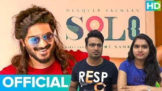 Solo Malayalam movie Teaser Reaction by Bollywood Audience | Dulquer Salmaan