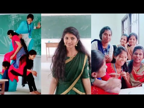 Tamil College Students Tik Tok Videos Collection - 1