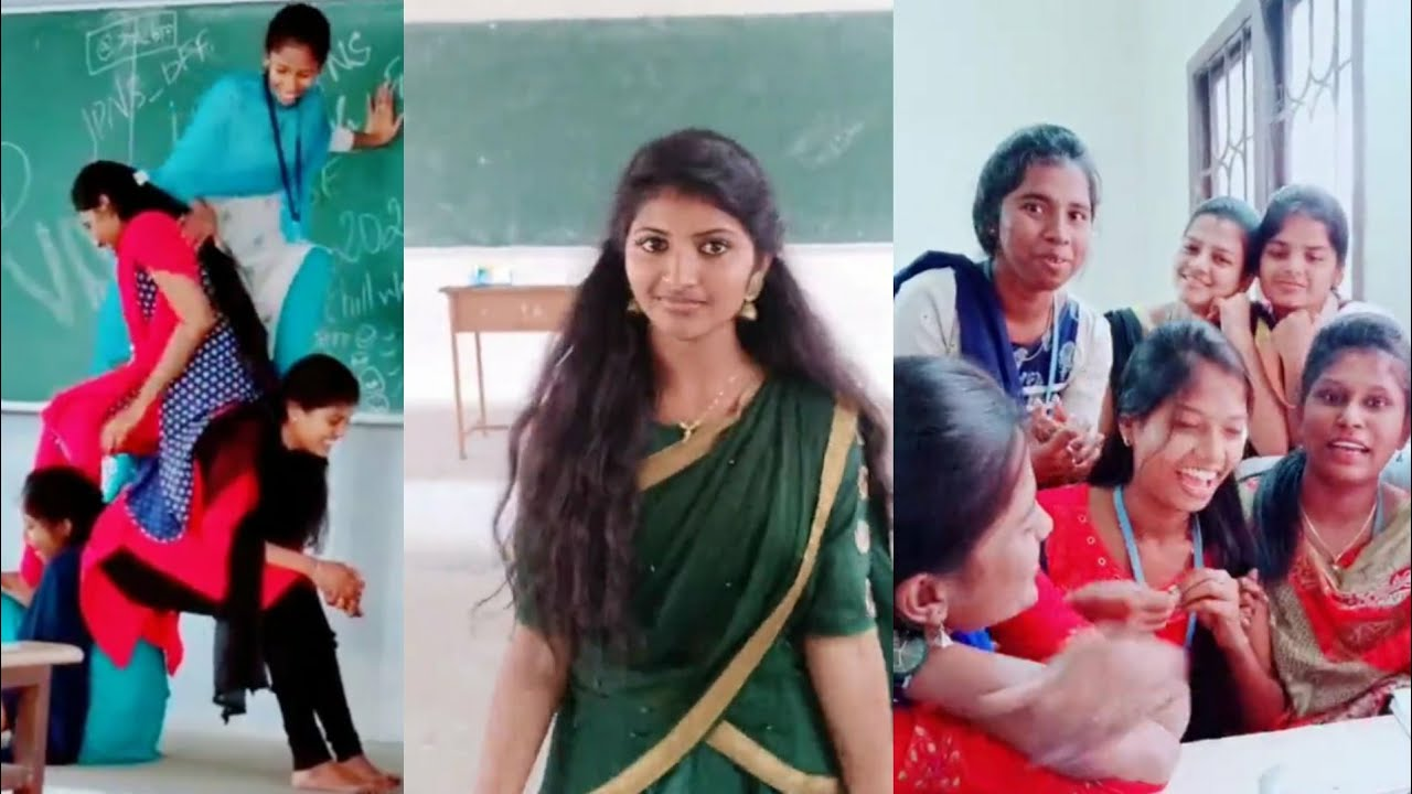 Download Tamil College Students Tik Tok Videos Collection - 1