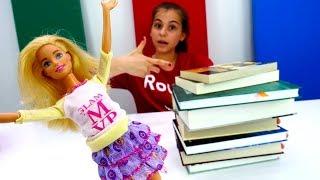 Видео для девочек - Барби сдает экзамен - Видео про кукол