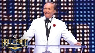 Larry Zbyszko thanks his hero in his WWE Hall of Fame induction speech: March 28, 2015