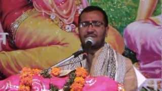 jai jai radha raman girdhari by deepak bhai ji during bhagwat katha 2012 at badrinath dham