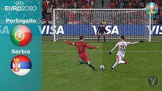 Portogallo Vs Serbia • UEFA Euro 2020 • Calci di Rigore • PES 2019 Patch [Giù]