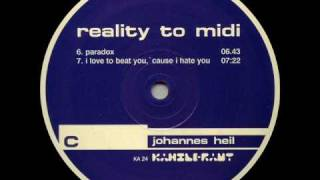 Johannes Heil - I Love To Beat You Cause I Hate You [Kanzleramt  024 - C2]