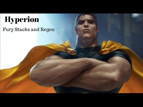 Hyperion Fury and Regen
