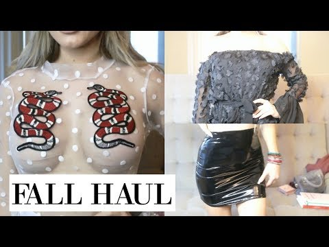 Fall Try On Haul ft Missguided & Adidas