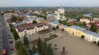 Елец, Липецкая область(Полет на квадрокоптере DJI Phantom 3 Advanced., 2015-09-25T11:39:41.000Z)